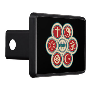 World Religious Peace Hitch Cover