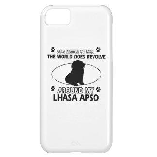 World revolves around my lhasa apso case for iPhone 5C