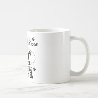 World revolves around my lowchen coffee mug