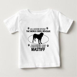 World revolves around my Mastiff Tee Shirts