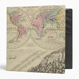 World, river systems binder
