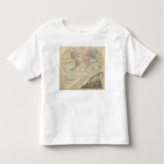 World, river systems toddler t-shirt