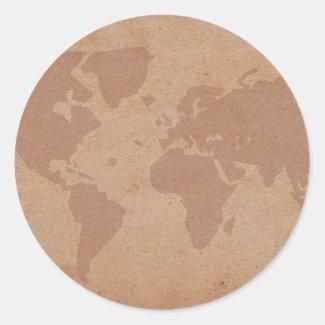 world round stickers