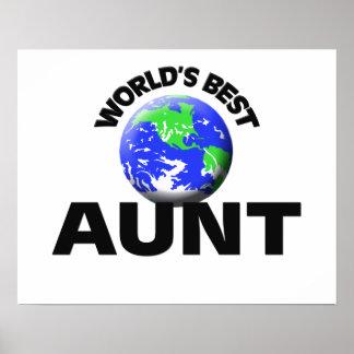 World s Best Aunt Print