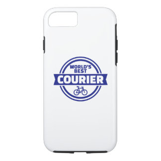 World's best bike courier iPhone 8/7 case