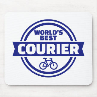 World's best bike courier mouse pad