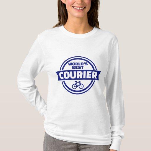 World's best bike courier t shirt