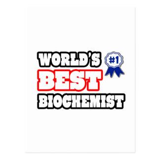World s Best Biochemist Post Cards