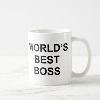 World s Best Boss Coffee Mug