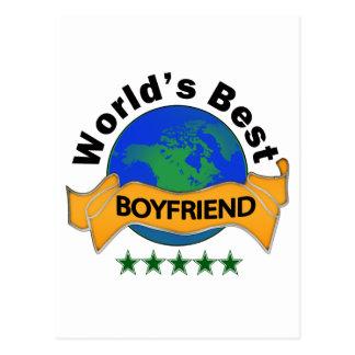 World s Best Boyfriend Post Cards