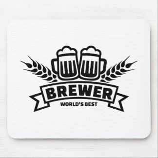 World's best brewer mouse pad
