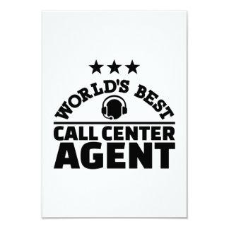 World's best call center agent card