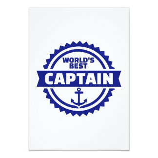 World's best captain card