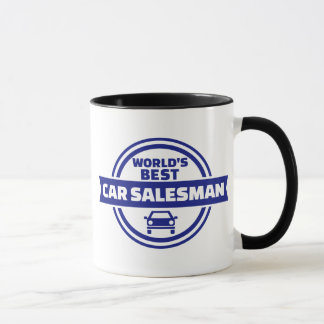World's best car salesman mug