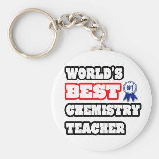World s Best Chemistry Teacher Keychains