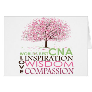 World s Best CNA Gifts Greeting Cards