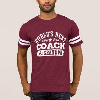 World's Best Coach and Grandpa T-Shirt