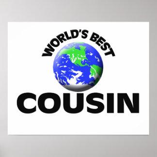 World s Best Cousin Print