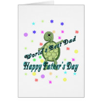 World's Best Dad Happy Father's Day Card