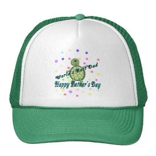 World's Best Dad Happy Father's Day Hat