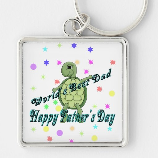 World's Best Dad Happy Father's Day Key Chain