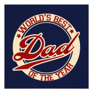 World s Best Dad Custom Invitation