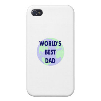 World s Best Dad iPhone 4/4S Cases