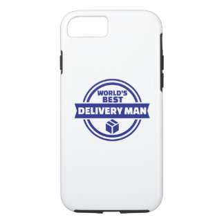 World's best delivery man iPhone 8/7 case