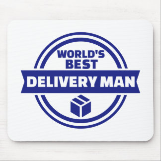 World's best delivery man mouse pad
