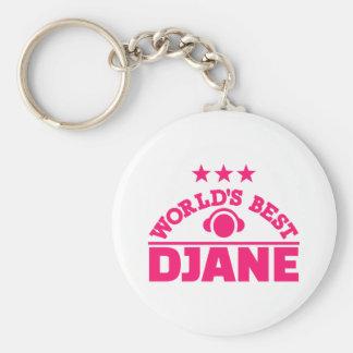 World's best Djane Keychain