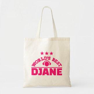 World's best Djane Tote Bag