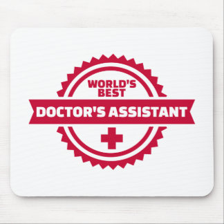 World's best doctor's assistant mouse pad