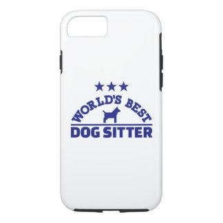 World's best dog sitter iPhone 8/7 case