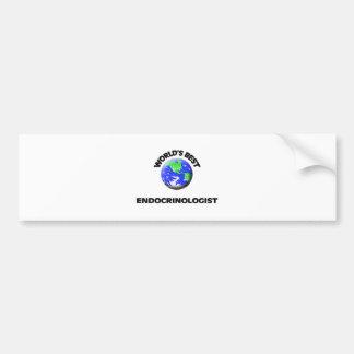 World s Best Endocrinologist Bumper Sticker