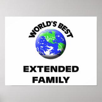 World s Best Extended Family Print