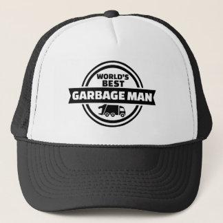 World's best garbage man trucker hat