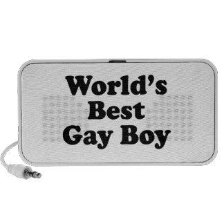 World s Best Gay Boy iPod Speaker