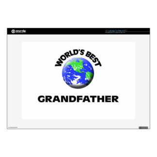 World s Best Grandfather Decals For Laptops