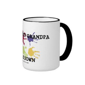 World s Best Grandpa Hands Down Coffee Mug