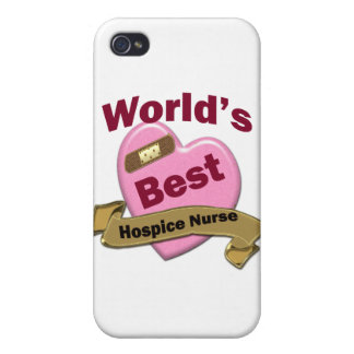 World s Best Hospice Nurse iPhone 4/4S Cases