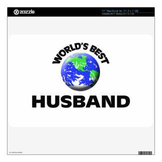 World s Best Husband MacBook Skin