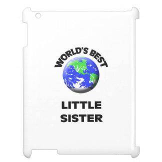 World s Best Little Sister Cover For The iPad