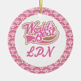 World's Best LPN Gift Ornament