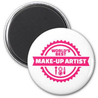 World's best make-up artist magnet