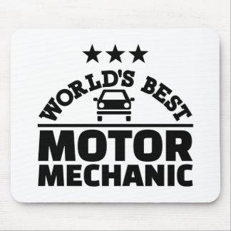 World's best motor mechanic mouse pad
