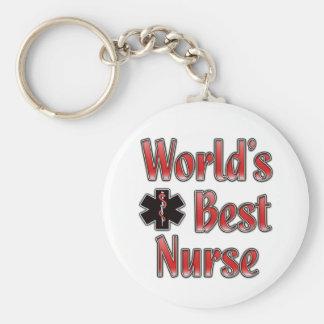 World s Best Nurse Keychain