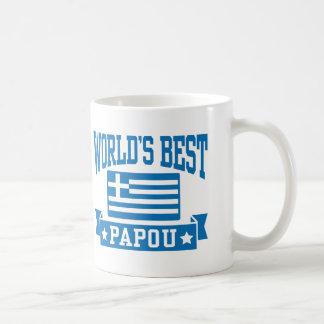 World's Best Papou Coffee Mug