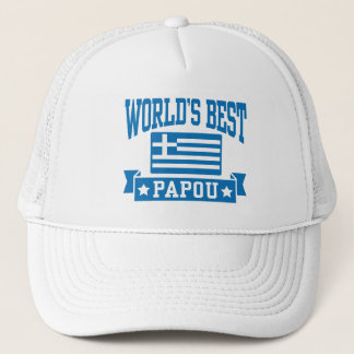 World's Best Papou Trucker Hat