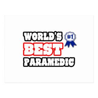 World s Best Paramedic Post Card
