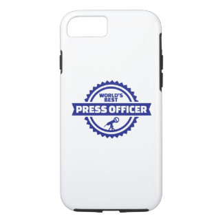World's best press officer iPhone 8/7 case